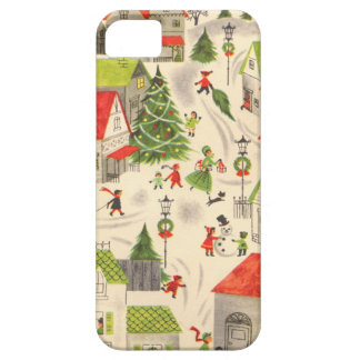 Little Christmas Village iPhone 5 Covers