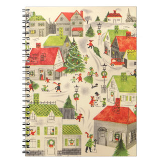 Little Christmas Village Notebooks