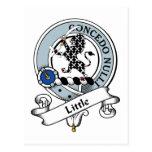 Little Clan Badge Postcard