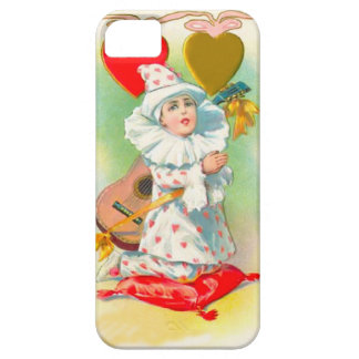 Little clown with hearts barely there iPhone 5 case