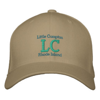 "Little Compton, RI ""LC"" Embroidered Baseball Cap"