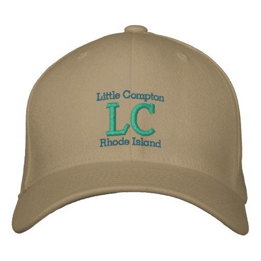 "Little Compton, RI ""LC"" Embroidered Baseball Caps"