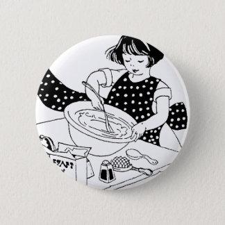 Little Cook 6 Cm Round Badge