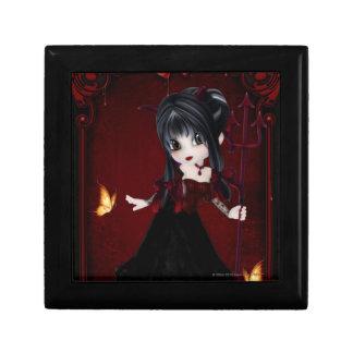Little Cookie Devil Girl 1 Fantasy Art Jewelry Box
