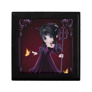 Little Cookie Devil Girl 6 Fantasy Art Jewelry Box