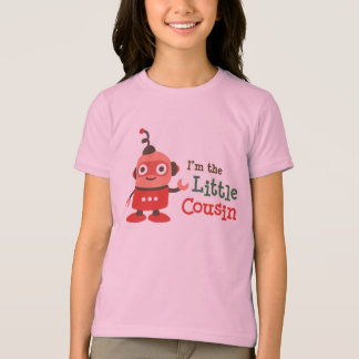 Little Cousin Retro Robot  t-shirts for girls