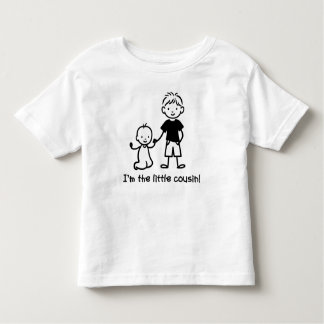 Little Cousin Stick Figures t-shirts for boys