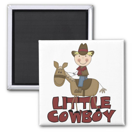 Little Cowboy Tshirts and Gifts Magnet