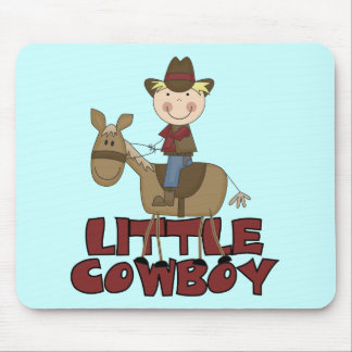 Little Cowboy Tshirts and Gifts Mouse Pad