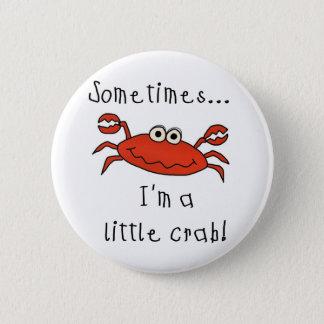Little Crab 6 Cm Round Badge