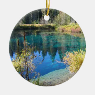 Little Crater Lake Christmas Ornament