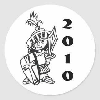 little crusader 2010 stickers