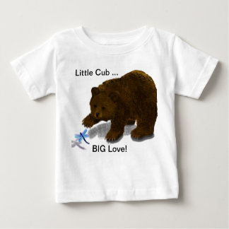 """Little Cub... BIG Love!"" Toddler Tee"
