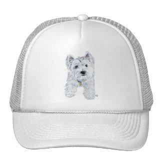 Little Curious Westie Mesh Hats