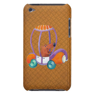 Little Cute Guy in Cute Car iPod Touch Cases
