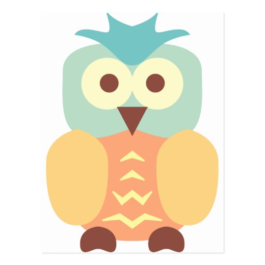 Little Cute Owl Postcard