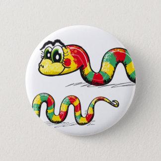 Little Cute Snake 6 Cm Round Badge