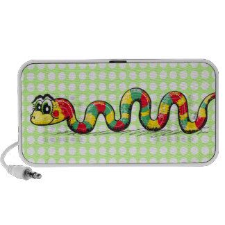 Little Cute Snake doodle Travelling Speakers