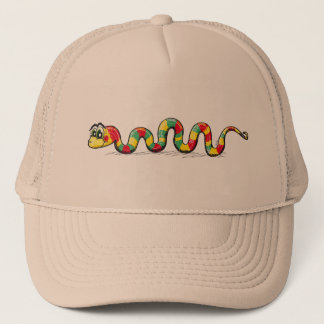 Little Cute Snake Trucker Hat