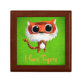 Little Cute Tiger Gift Box