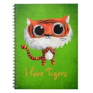 Little Cute Tiger Notebooks