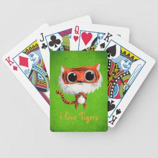 Little Cute Tiger Poker Deck