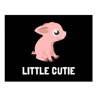 Little Cutie Pig Postcard