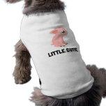 Little Cutie Pig Sleeveless Dog Shirt