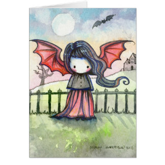 Little Cutie Vampire Card