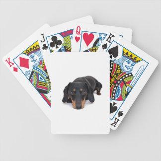 Little Dachshund Poker Deck