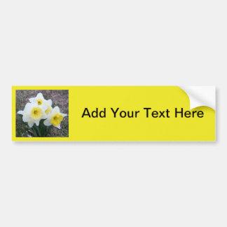 Little Daffodil... Customize it! Car Bumper Sticker