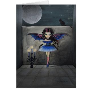 Little Dancer Gothic Vampire Fairy Card