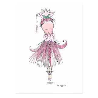 Little Dancer Number One Postcard