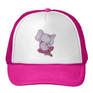 Little Dancing Ballerina Elephant Hat