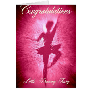 Little Dancing Fairy Card