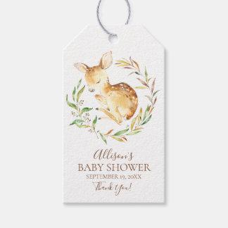 Little Deer Baby Shower Favor Gift Tag