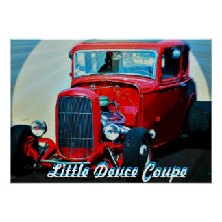 Little Deuce Coupe - Large Poster