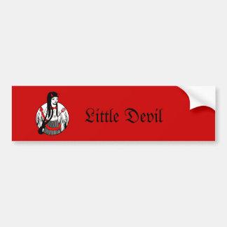 Little Devil Bumper Sticker