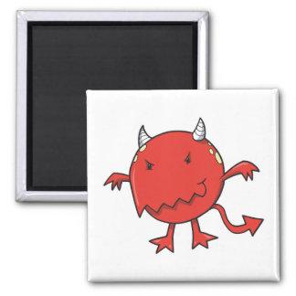little devil inside red refrigerator magnet