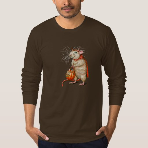 Little Devil Rat Halloween t-shirt KMCoriginals