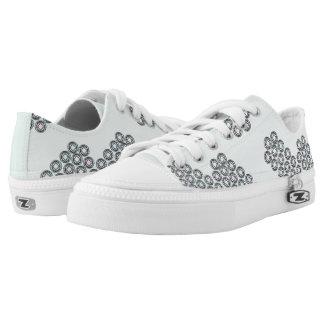 Little Diamonds Shoes Printed Shoes