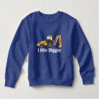 Little Digger - Toddler Fleece Sweatshirt Sweatshirt