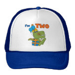 Little Dino 2nd Birthday Tshirts and Gifts Cap