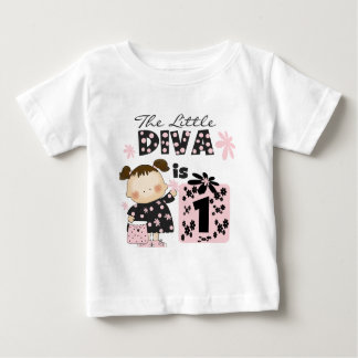 Little Diva 1st Birthday Tshirts and Gifts