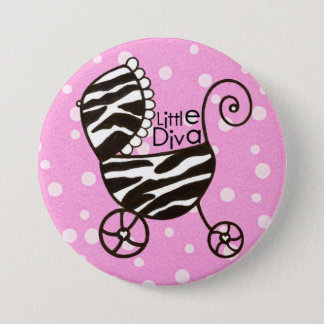 """Little Diva"" Baby Buttons"