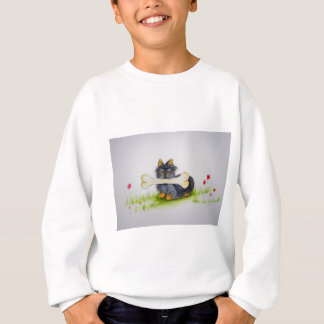 Little Dog Big Bone ( Yorkshire terrier ) Sweatshirt