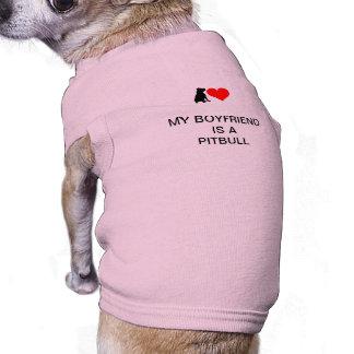 Little dog love (PINK) Doggie T Shirt