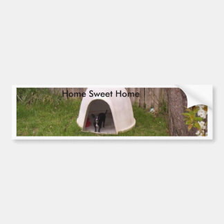 Little Dog's Home Sweet Home Bumper Stickers