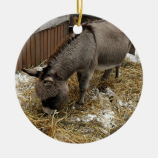 Little Donkey Christmas Christmas Ornament