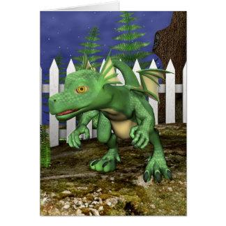 Little Dragon Card